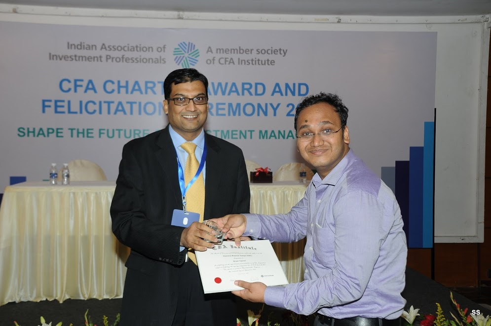 CFA Charter Felicitation Ceremony in Mumbai… | Indian